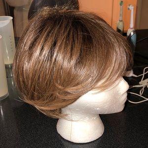 50/50 wig